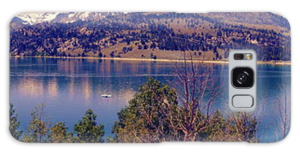 June Lake Panorama Galaxy Case