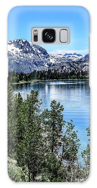 June Lake Portrait Galaxy Case