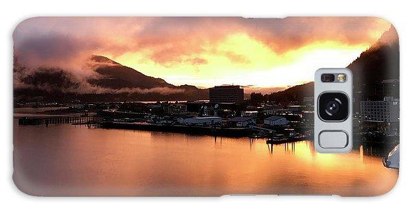 Juneau Sunset Galaxy Case