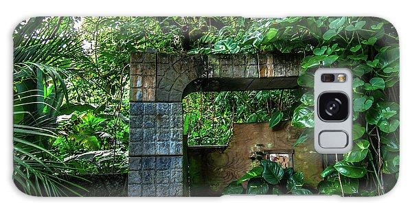 Jungle Gate Hana Maui Hawaii Galaxy Case