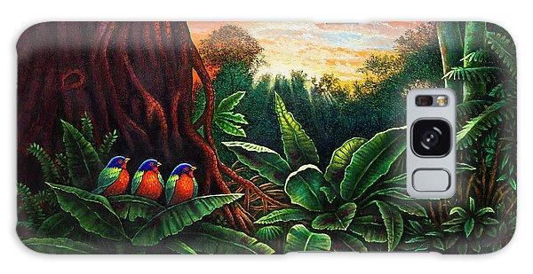 Jungle Harmony 3 Galaxy Case
