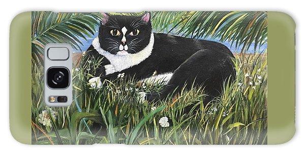 Jungle Kitty Galaxy Case
