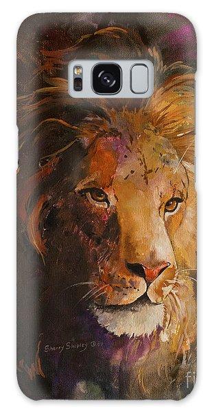 Jungle Lion Galaxy Case