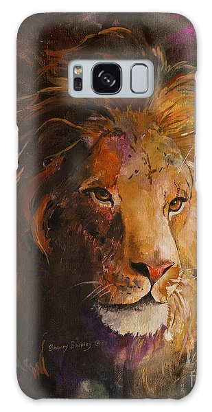 Jungle Lion Galaxy Case