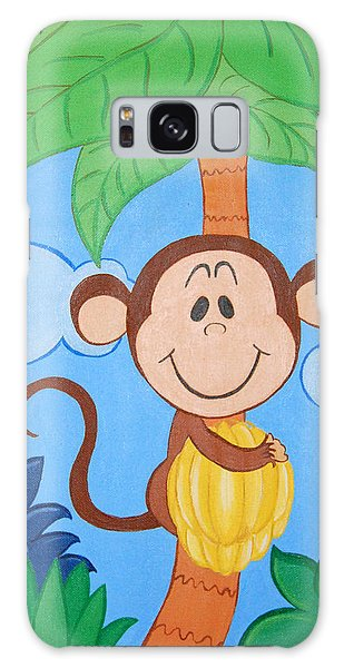 Jungle Monkey Galaxy Case