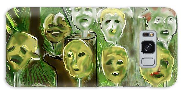Jungle Spirits Galaxy Case by Jean Pacheco Ravinski