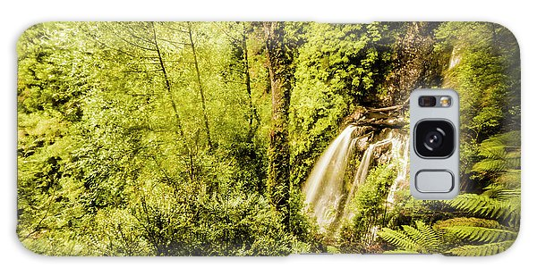 Philosopher Galaxy Case - Jungle Steams by Jorgo Photography - Wall Art Gallery