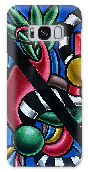 Original Colorful Abstract Art Painting - Multicolored Chromatic Artwork Galaxy Case