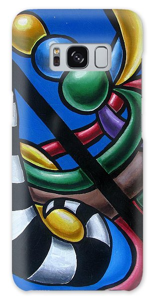 Original Colorful Abstract Art Painting - Multicolored Chromatic Artwork Painting Galaxy Case