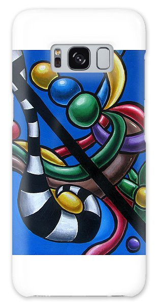 Colorful 3d Abstract Art Painting - Multicolored Original Artwork -tropical Galaxy Case