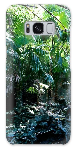 Jungle Sun  Galaxy Case