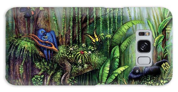Jungle Talk Galaxy Case