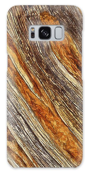Juniper Texture Galaxy Case by ABeautifulSky Photography