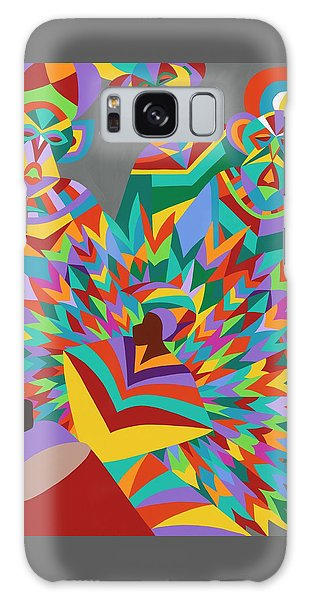 Galaxy Case - Junkanoo by Synthia SAINT JAMES