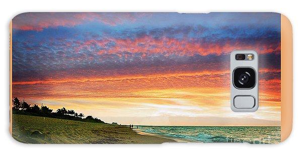 Juno Beach Florida Sunrise Seascape D7 Galaxy Case