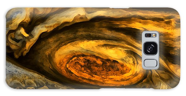 Jupiter's Storms. Galaxy Case