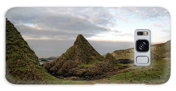 Jurassic Coastline At Ballintoy Galaxy Case