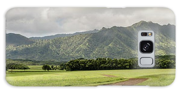 Jurassic Kahili Ranch Panorama Galaxy Case