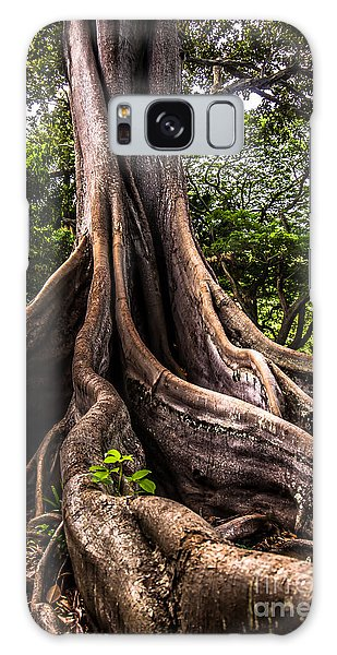 Jurassic Park Tree Roots Galaxy Case