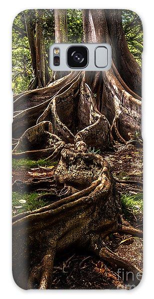 Jurassic Park Tree Trailing Root Galaxy Case