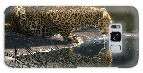 Africa Galaxy Case - Just A Sip by Aaron Blaise