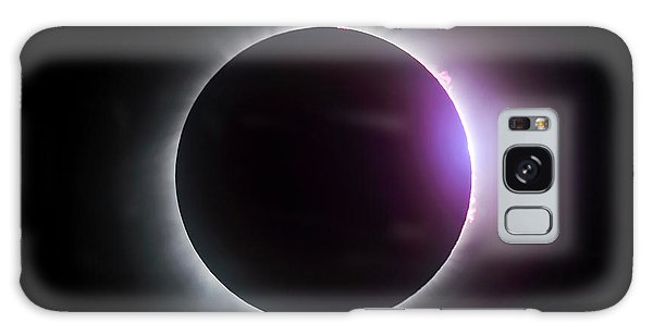 Just After Totality - Solar Eclipse August 21, 2017 Galaxy Case