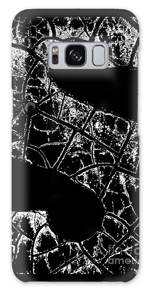 Galaxy Case featuring the photograph Just An S by Wendy Wilton