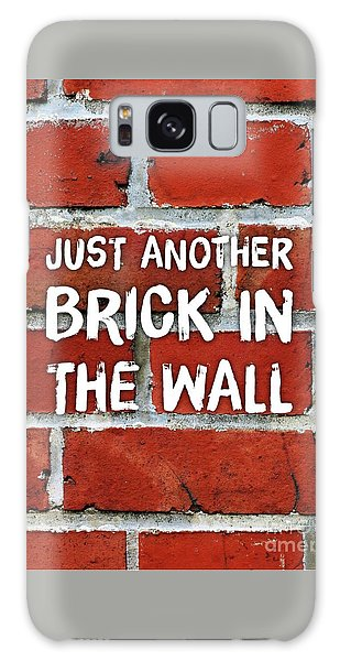 Bricks Galaxy Case - Just Another Brick In The Wall by Esoterica Art Agency