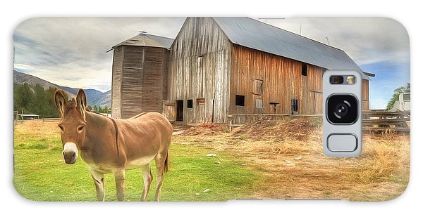 Just Another Day On The Farm Galaxy Case by Donna Kennedy