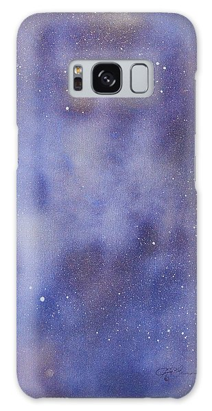 Just Another Face In The Clouds Galaxy Case