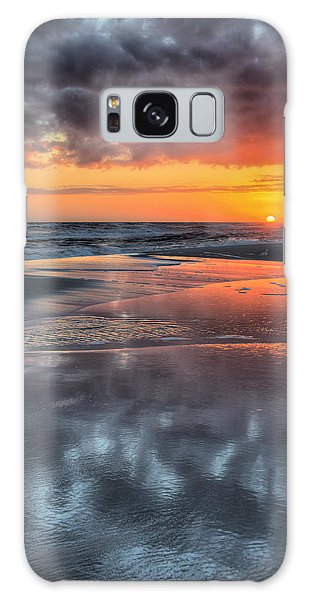 Galaxy Case featuring the photograph Just Another South Baldwin Sunset by JC Findley