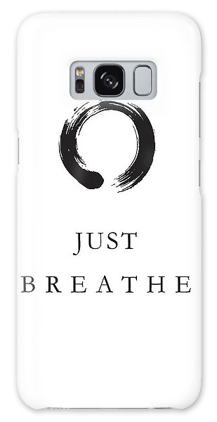 Breathe Galaxy Case - Just Breathe by Studio Grafiikka