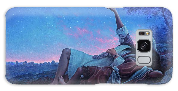 New Testament Galaxy Case - Just For A Moment by Greg Olsen