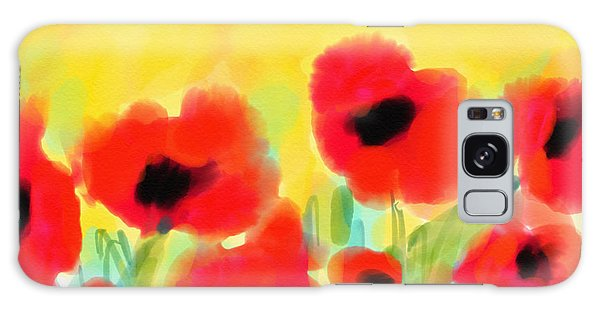 Just Poppies Galaxy Case