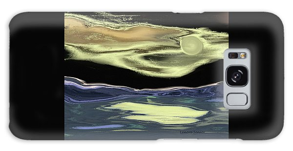 Just This Side Of Midnight Galaxy Case by Lenore Senior