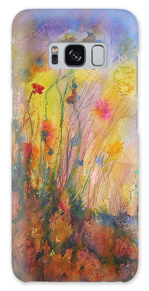 Just Weeds Galaxy Case by Mary Schiros