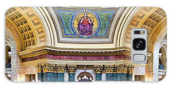 Justice Mural - Capitol - Madison - Wisconsin Galaxy Case