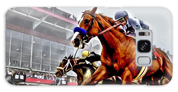 Justify Wins Preakness Galaxy Case