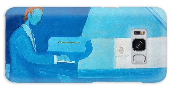 Justin Levitt Steinway Piano Blue Galaxy Case