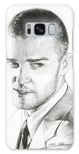 Justin Timberlake Drawing Galaxy Case