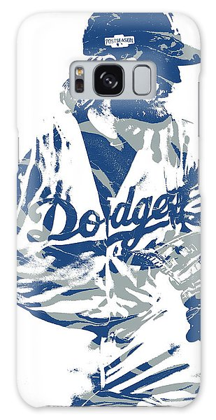 Justin Turner Los Angeles Dodgers Pixel Art 15 Galaxy S8 Case