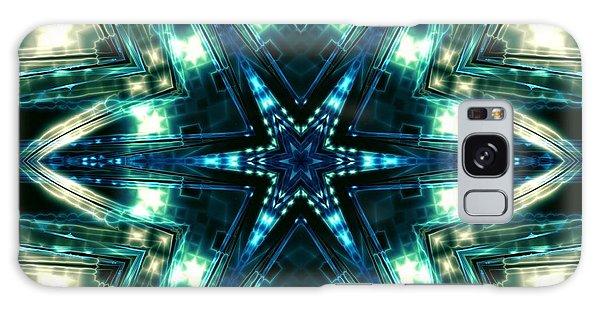 Galaxy Case featuring the digital art Jyoti Ahau 100 by Robert Thalmeier