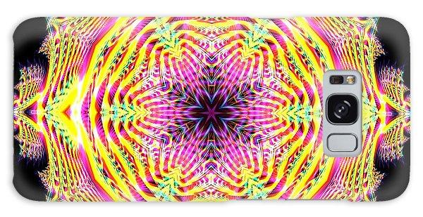 Galaxy Case featuring the digital art Jyoti Ahau 112 by Robert Thalmeier