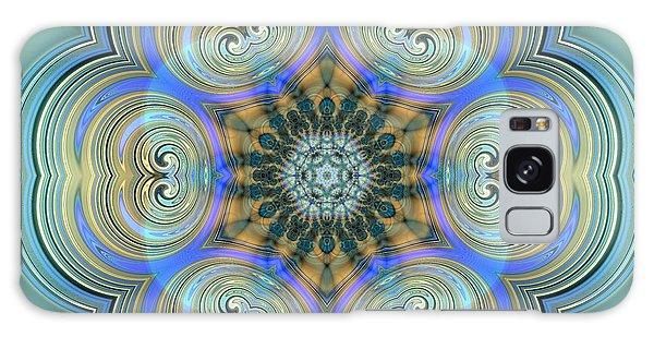 Galaxy Case featuring the digital art Jyoti Ahau 140 by Robert Thalmeier