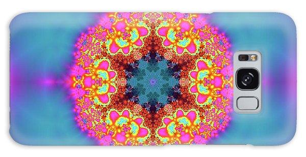 Galaxy Case featuring the digital art Jyoti Ahau 192 by Robert Thalmeier