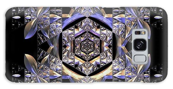 Galaxy Case featuring the digital art Jyoti Ahau 198 by Robert Thalmeier