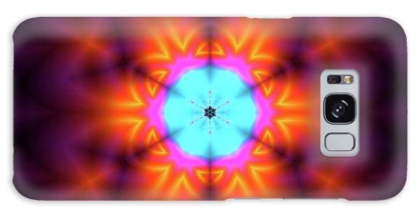 Galaxy Case featuring the digital art Jyoti Ahau 216 by Robert Thalmeier