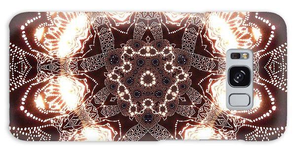 Galaxy Case featuring the digital art Jyoti Ahau 45 by Robert Thalmeier