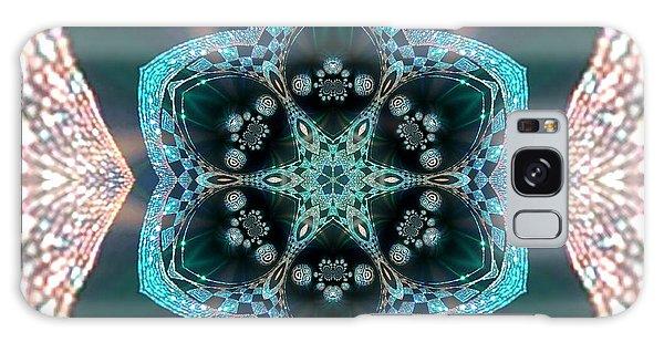 Galaxy Case featuring the digital art Jyoti Ahau 55 by Robert Thalmeier