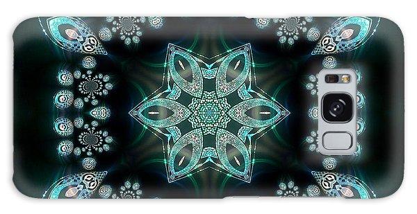 Galaxy Case featuring the digital art Jyoti Ahau 58 by Robert Thalmeier
